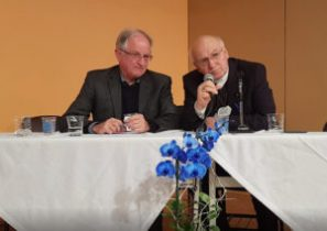 Padre Hubertus Blaumeiser e Dom Francisco Biasin