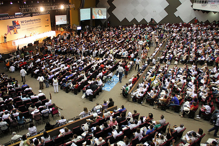 Foto: 14a Conferência Nacional de Saúde - conselho.saude.gov.br