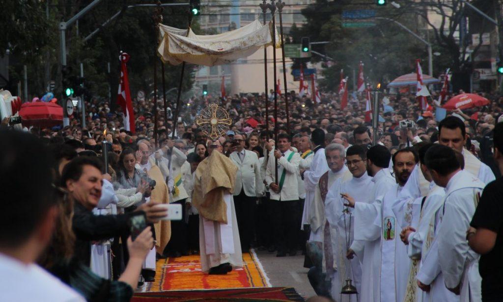 Corpus Christi 2018. Foto: Juliana Oliveira - Pascom Curitiba