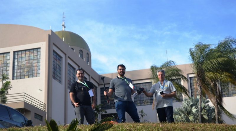 Parte da Equipe de Comunicação da Reginal Sul 2 em Trindade