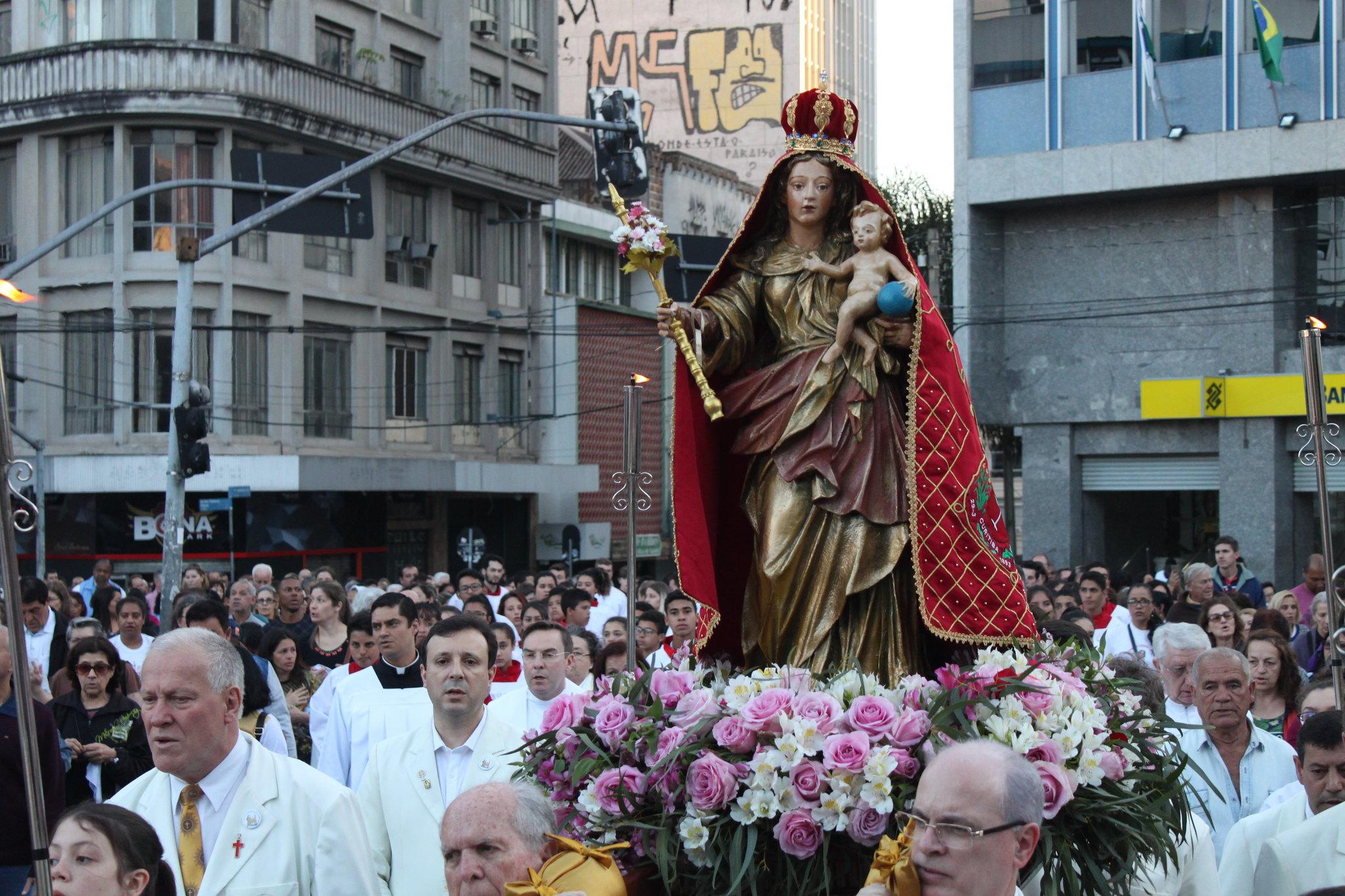 procissao-padroeira-arquidiocese-de-curitiba