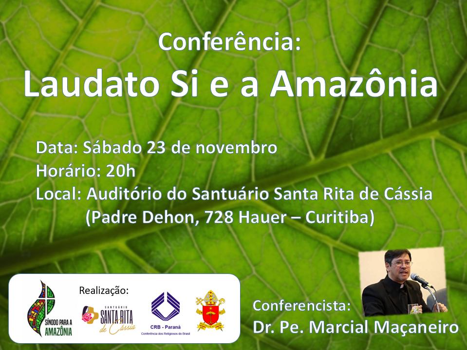 conferencia-laudato-si-e-a-amazonia