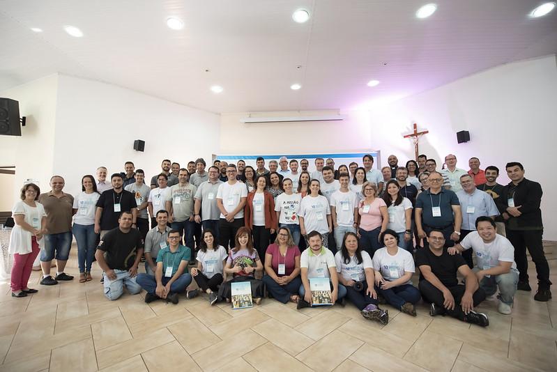 Participantes do Encontro / reprodução arquidioceselondrina.com.br