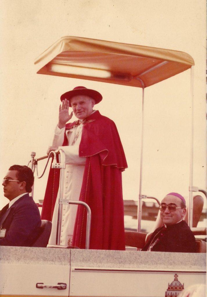 São João Paulo II pelas ruas de Curitiba / Arquivo Arquidiocese de Curitiba