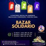 Bazar solidário acontece neste fim de semana, no Guabirotuba