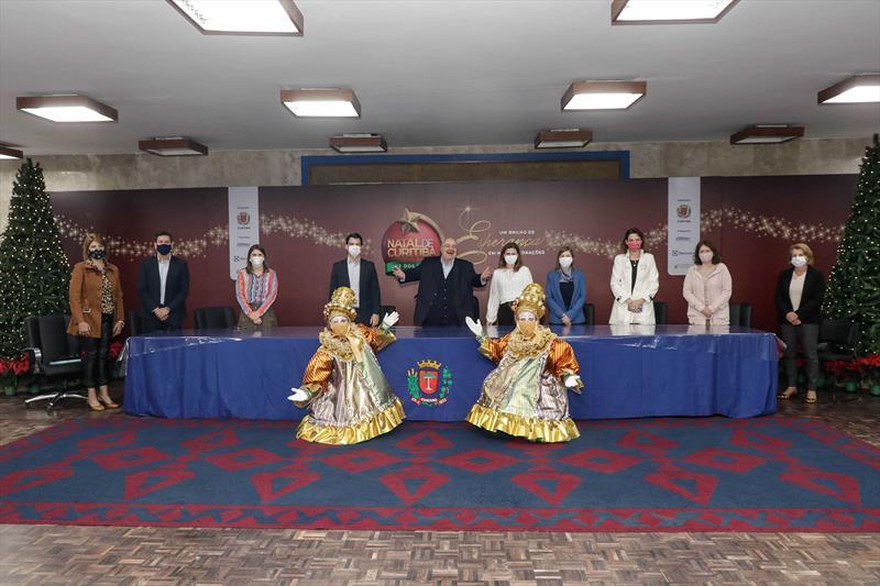 Prefeito Rafael Greca anuncia programação oficial do Natal na cidade (Foto: Prefeitura de Curitiba)