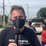 Padre Joaquim Parron é um dos organizadores do Movimento (Foto: SOS Vila Torres)