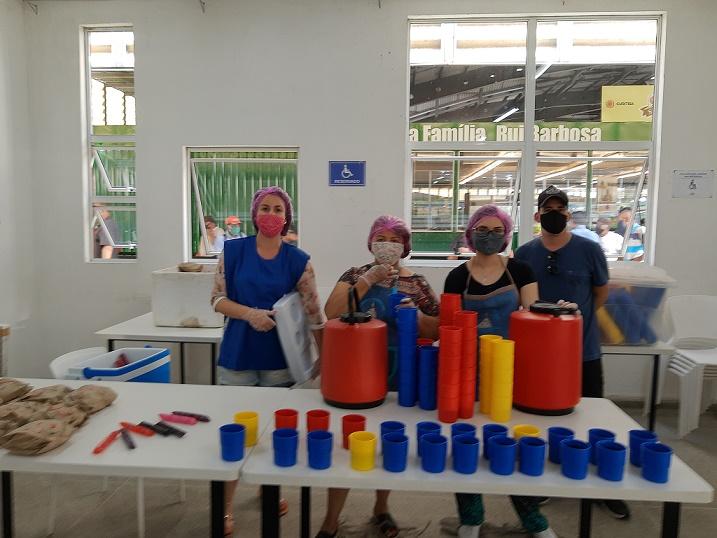 Movimento Mesa Fraterna necessita de novos voluntários para os trabalhos de assistência (Foto: Movimento Mesa Fraterna)