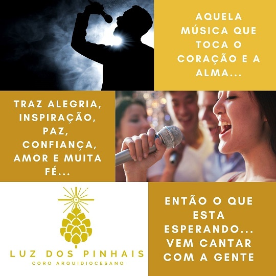 O Coro Luz dos Pinhais está aberto a novos integrantes (Imagem: divulgação/Eduardo Filho)