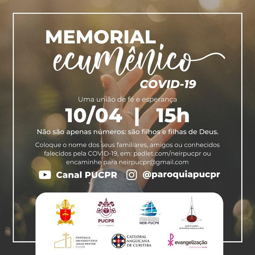 Celebração de lançamento do Memorial será no dia 10 de abril (Imagem: Divulgação)