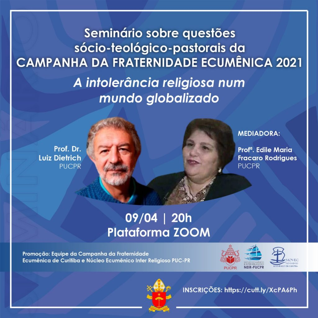 O Seminário será realizado nesta sexta, dia 9 de abril (Imagem: Divulgação)
