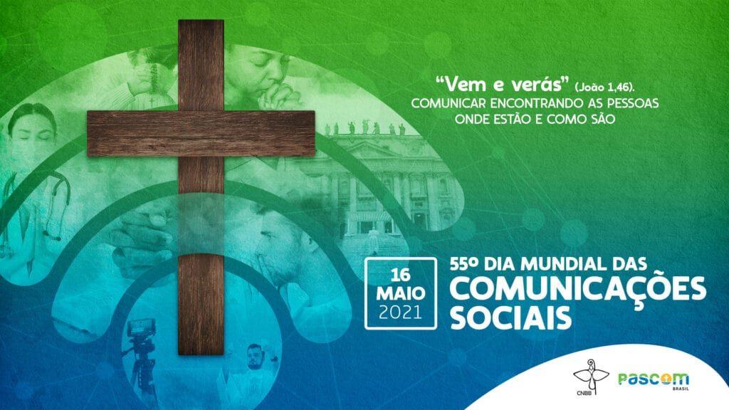 A arte foi escolhida por unanimidade para representar neste ano o Dia Mundial das Comunicações (Imagem: Divulgação CNBB)