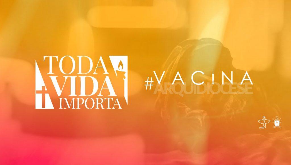 A Campanha utiliza a hashtag #VacinaCuritiba (Imagem: Divulgação)