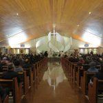 Paróquia Profeta Elias durante a missa da última terça