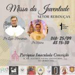 A missa será no dia 25 de setembro, às 15h30 (Imagem: Divulgação)