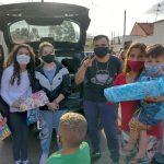 As ações procuraram beneficiar não apenas as crianças, mas as famílias (Foto: Divulgação)